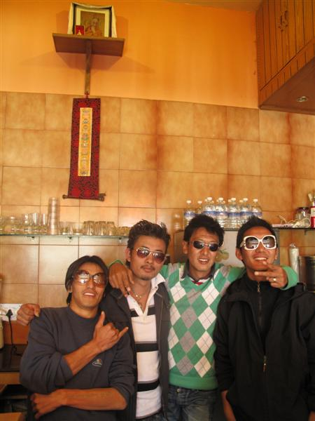 Young guns in refugee - The Tibetans
