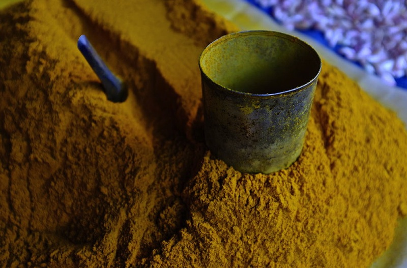 Tumeric with Tin