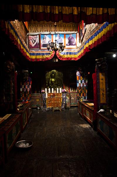 Monastery in Kagbeni, Upper Mustang that revere the Sakya sect of Tibetan Buddhism the most.