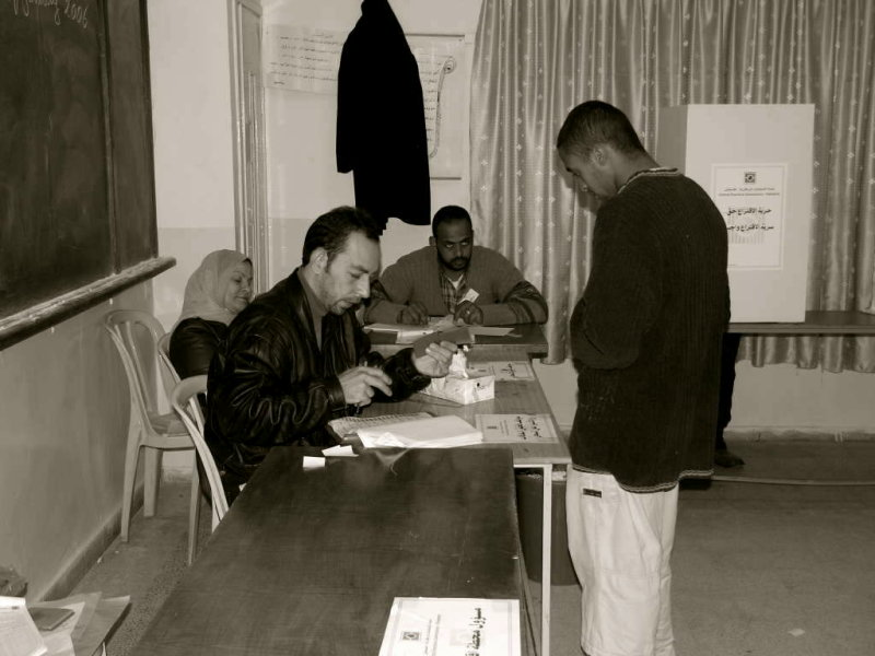 Election, West bank, Palestine 2006