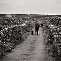 Man In Lane, Inisheer, Aran Islands, Ireland, 2007