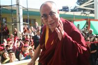 "The 14th Dalai Lama of Tibet "" Tenzin Gyatso "" in refugee in India"