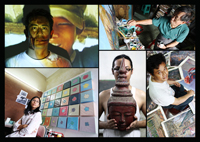 Burmese artists - Yangon (Burma)
