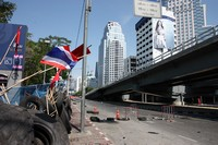 Deserted roads of Bangkok