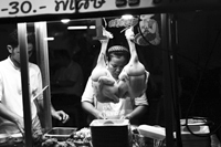 chicken and duck seller
