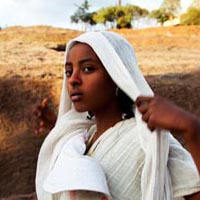 Girl in Lalibela, Ethiopia