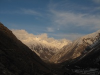 Sunset Chitkul