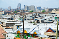 View of one part of Mukuru Slum