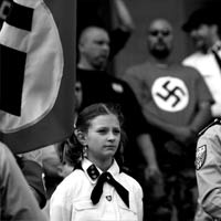 The National Socialist Movement Rallies in Michigan