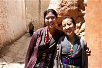 Local Loba women work as conservators to revive Tibetan murals dying with age.