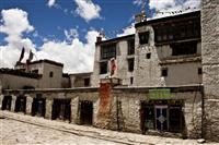 The royal palace of the King of Mustang, that situates right in the middle of the walled city of Lo Mantang, Upper Mustang