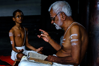 Ancient Vedic School of India