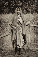 A Tribal  Women