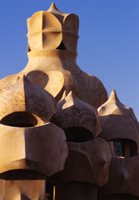Roof top stacks - Gaudi